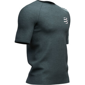 Compressport Training Kurzarm T-Shirt Herren dark grey